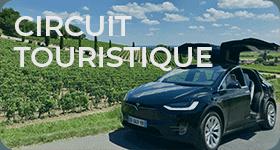 bordeaux tour et circuit dans les vignobles de Bordeaux, Champagne à Reims et dans la Loire, profite d'une journée en berline avec chauffeur privé guide en Tesla pour déguster des vins délicieux.